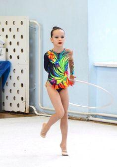 Rhythmic gymnastic leotard 125-133 cm