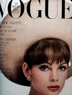 Vogue May 1963 Jean Shrimpton. How much does Jean look like Michelle Williams?