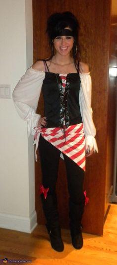 Pirate Beauty - Halloween Costume Contest via @costumeworks
