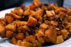 Fajita sweet potatoes.
