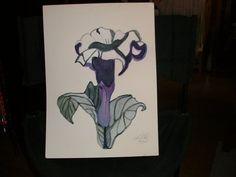 Purple Flower Purple Flowers, Art Work, Artwork, Work Of Art
