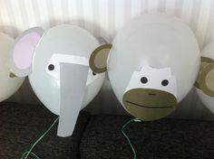 Djungelballonger elefantballong barnkalas