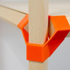 Jonction-P is a simple but strong plastic connector allowing you to build custom and modular furniture, using rectangular wood sticks. The square version of this model, using a wooden profile of 17mm x17mm, found at Leroy Merlin, in Paris, has the advantage of being reversible. The same component can be used to build a table, a shelf or even architectural structures (if you are motivated enough). A parametric file is provided to adapt the design to different wood profiles. Just update the…