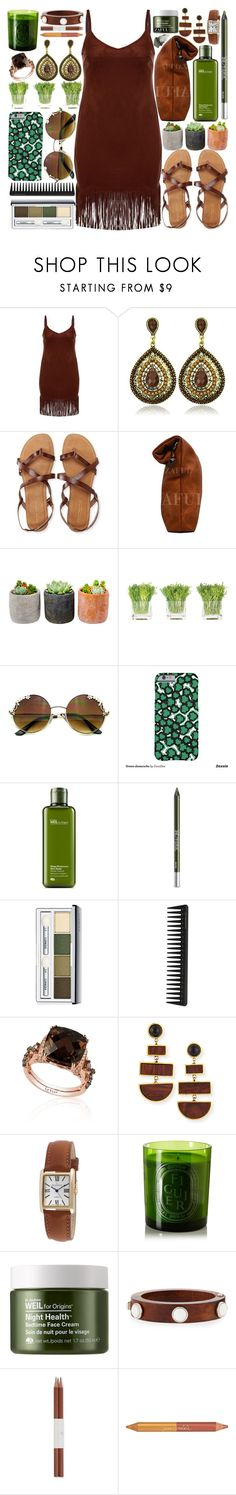 """""""Nature tones"""" by vanjazivadinovic ❤ liked on Polyvore featuring Aéropostale, Shop Succulents, NDI, Origins, Urban Decay, Clinique, GHD, LE VIAN, Lizzie Fortunato and Peugeot"""