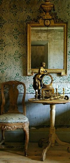 Old World Style, What Inspires You, London Calling, Inspiration Boards, Belle Epoque, Decor Interior Design, Interior Architecture, Poppy, Mirrors