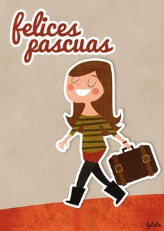 ¡¡Felices pascuas!!    www.lydiasanchez.es