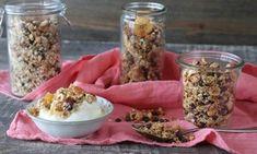 Πως φτιάχνω σκορδαλιά — Paxxi Light Desserts, Granola Bars, Healthy Desserts, Cake Recipes, Cereal, Oatmeal, Brunch, Snacks, Vegetables