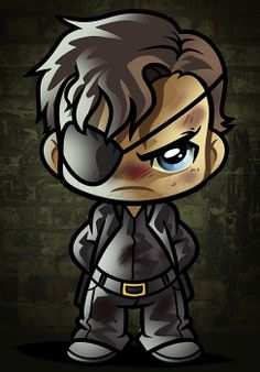 how to draw chibi governor from the walking dead