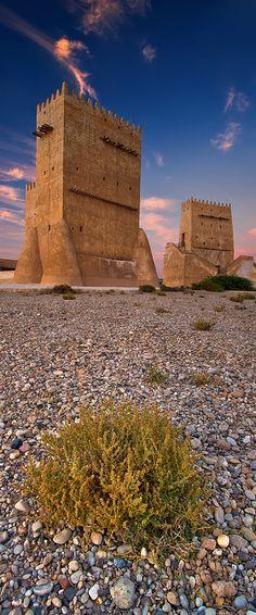 The Barzan tower, Qatar