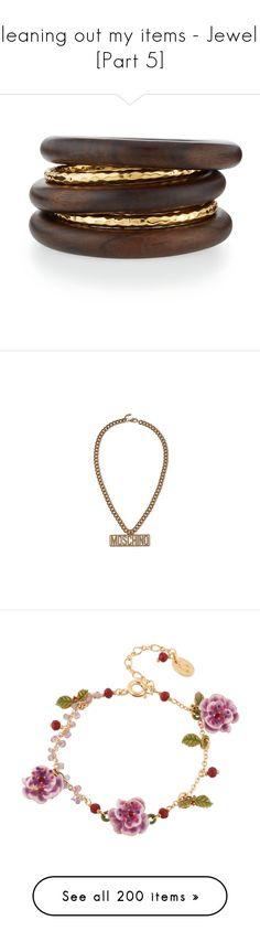 Gorjana Newport Bracelet Set 75 liked on Polyvore featuring
