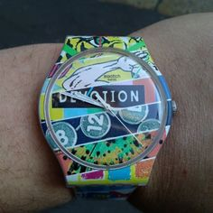 #Swatch WHITE LOOP