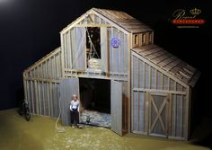 https://flic.kr/p/EsKQaW   Regent Miniatures Horse Barn Daybreak   This is 1:6 Horse Barn being built. Not yet completed but getting there. Perfect for ASMUS Horses or other Barbie, Hot Toys, Fashion Royalty or 12 Inch Collectible figures. Barn will be complete with Hay Loft, Tack Room and Horses!  Black Label Farrah Fawcett repainted/restyled by artist Noel Cruz of www.ncruz.com for www.myfarrah.com.  1:6 scale furnishings by Ken Haseltine of Regent Miniatures.  Regent Miniatures Your…
