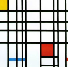 Piet Mondrian – Composition with Yellow, Blue and Red – 1942 – Tate Gallery, London