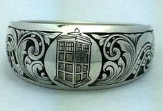 The Engraver's Cafe - The World's Largest Hand Engraving Community - Sci-Fi Ring