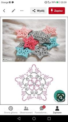 No 7 large snowflake lace crochet motifs salvabrani Lovely crocheted flower on a japanese site salvabrani – Artofit Сhristmas snowflakes crochet snowflakes set of 6 Xmas di N crochet patterns in thread - Salvabrani Crochet Snowflake Pattern, Crochet Stars, Crochet Snowflakes, Crochet Flower Patterns, Crochet Stitches Patterns, Thread Crochet, Crochet Flowers, Knitting Patterns, Crochet Diagram