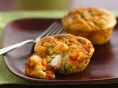 Enjoy this chicken pot pie filled with peas and carrots – a delightful dinner made using Original Bisquick® mix.