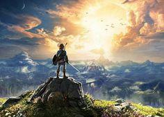 The Legend Of Zelda Breath Of The Wild art.