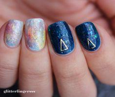 TUTORIAL | Opal nails ~ Glitterfingersss in english
