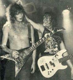 Dave Mustaine and David Ellefson