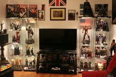 Awesome Lounge/Man Cave Display