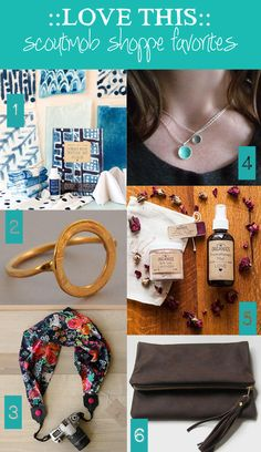 A few of my current favorite things from Scoutmob (that would make great Mother's Day gifts). Plus a chance to win a $100 gift card.