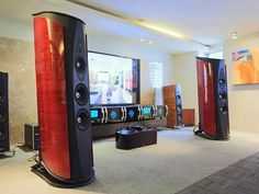 High end audio audiophile listening room design