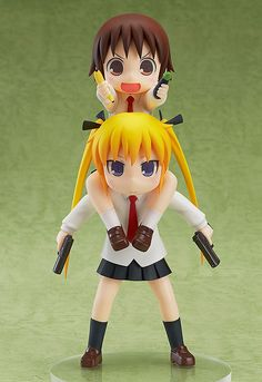Kill Me Baby! From the slightly violent slice-of-life gag anime 'Kill Me Baby!' comes a figure of the assassin who attends school like any one else, Sonya as well as her classmate and self-proclaimed friend, Yasuna. Funny Expressions, Anime Figurines, Mode Shop, Identity Art, Anime Merchandise, Tokyo Otaku Mode, Manga, Anime Chibi, Cartoon Characters
