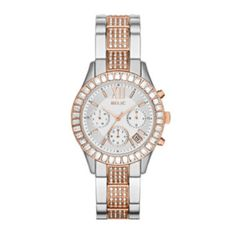 Relic® Bailey Womens Crystal-Accent Two-Tone Bracelet Watch ZR15803  found at @JCPenney