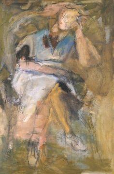 Larry Rivers, Portrait of Berdie