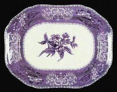 Vintage Purple Plate (Oh my beautiful) Purple Home, Shades Of Purple, Deep Purple, Magenta, Blue, All Things Purple, Purple Stuff, Purple Plates, Purple Kitchen