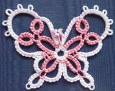 Butterfly with Daisy Picots by Jennifer Williams. Warning link automatically downloads pattern pdf.