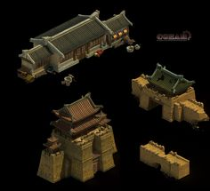 CHINESE STYLE BUILDING by offside926.deviantart.com on @DeviantArt