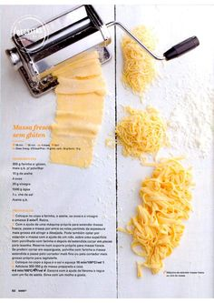Bimby julho 2015 by Ricardo Fernandes - issuu Pasta, Fodmap, Clean Recipes, Gluten Free Recipes, Family Meals, Cooking Tips, Make It Simple, Dairy Free, Nom Nom