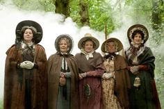Cranford- period movie that will steal your heart.