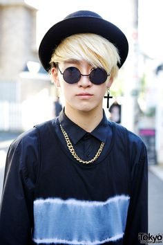 Meet Sho, an 18-year-old student we street snapped in Harajuku.