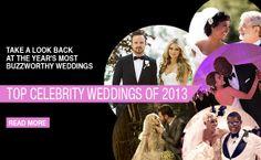 Top celebrity weddings of 2013