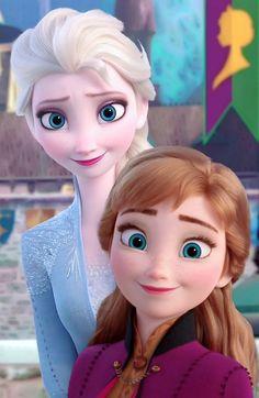 Frozen 2 Official Disney Anna & Elsa Design kids Bedding Duvet Cover with Matching Pillow Case Disney Rapunzel, Frozen Disney, Frozen Art, Frozen Elsa And Anna, Frozen Movie, Frozen Princess, Elsa Anna, Disney Princess Quotes, Disney Princess Pictures