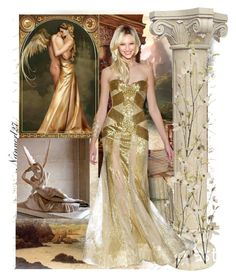 place in group contest: Gold Outfits Pier 1 Imports, Zuhair Murad, Bridesmaid Dresses, Wedding Dresses, My Arts, Formal Dresses, Polyvore, Collection, Design