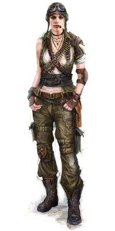 tank girl, badass lady, postapo
