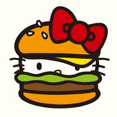 Burger Kitty