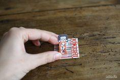 Mihoko Seki Kokeshi Mini Sticky Notes