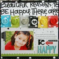 Be Happy - Scrapbook.com