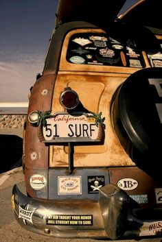 The classic surf wagon....WOODY... WILL YOU TAKE ME ANYWHERE I GO