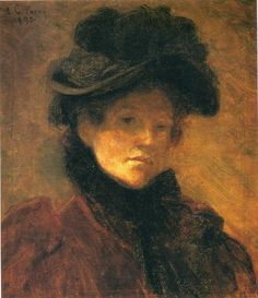 Lilla Cabot Perry Self Portrait