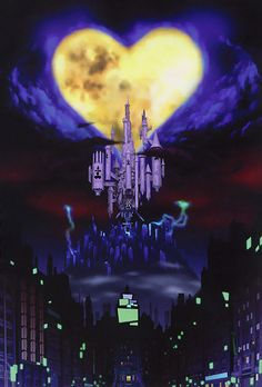 kingdom hearts world that never was - Google Search - hear snapped moon