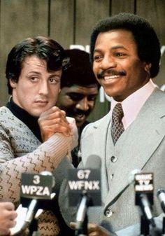 Rocky and Apollo.