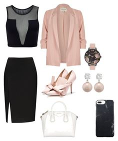 Classy by himani3446 on Polyvore featuring polyvore, Varley, River Island, Givenchy, Olivia Burton, Jankuo, fashion, style and clothing
