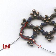 Full Instructions: Lattice Bracelet- Easy Single Needl e Right Angle Weave ~ Seed Bead Tutorials