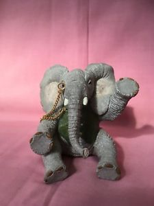Tuskers Alistair Hand Painted Collectible Elephant By Country Artists Country Artists, Dinosaur Stuffed Animal, Elephant, Hand Painted, Toys, Painting, Animals, Ebay, Collection