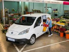 Электрический фургон Ниссан e-NV200 2015 / Nissan e-NV200 2015